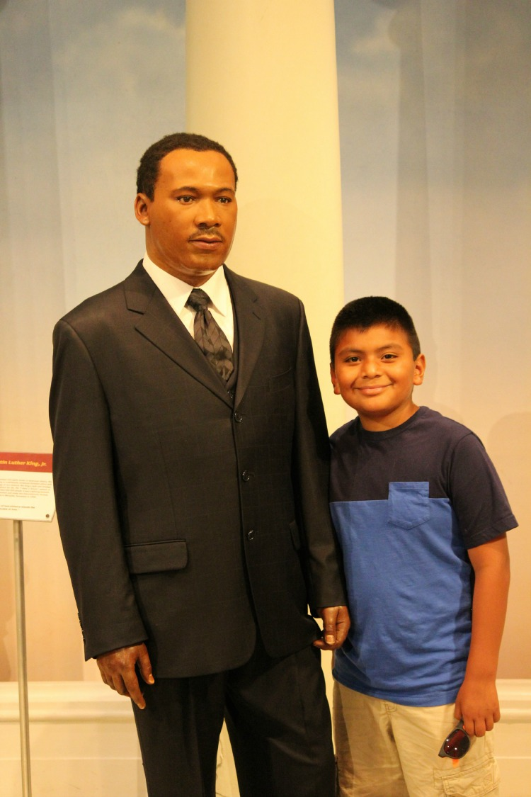 Madame Tussauds Martin Luther King Jr