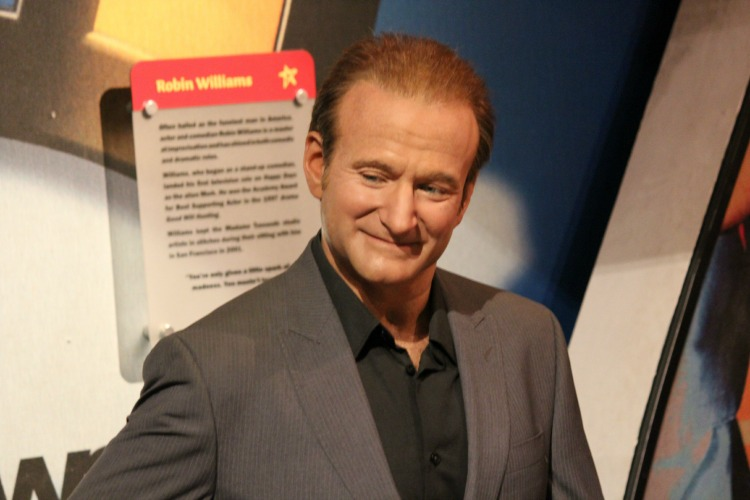 Robin Williams Madame Tussauds NYC