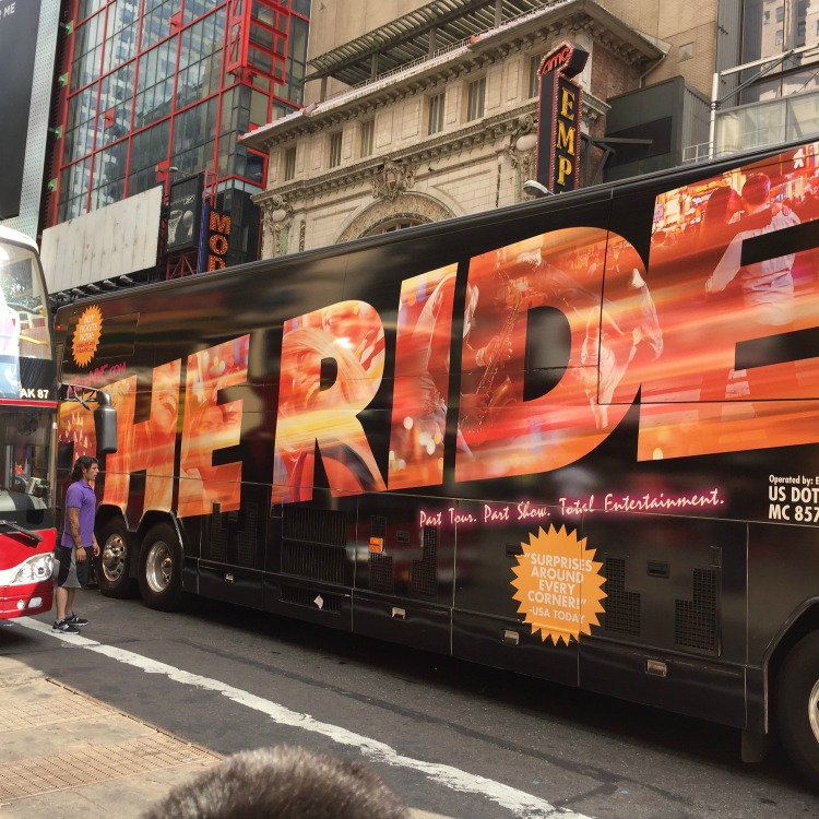 The Ride NYC Charter Bus
