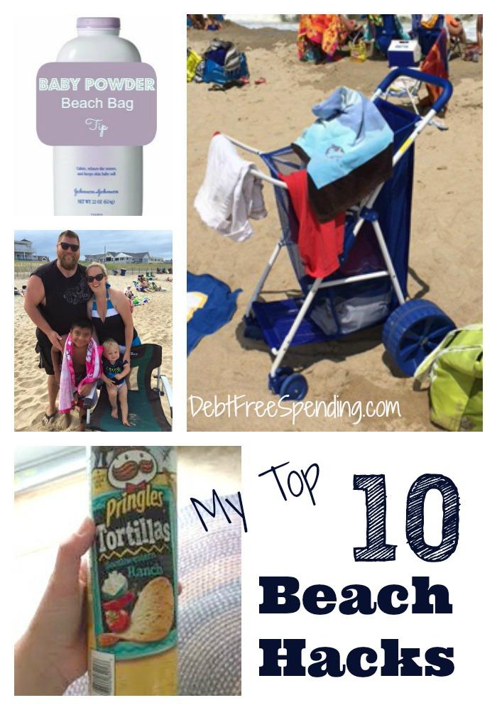 My Top 10 Beach Hacks