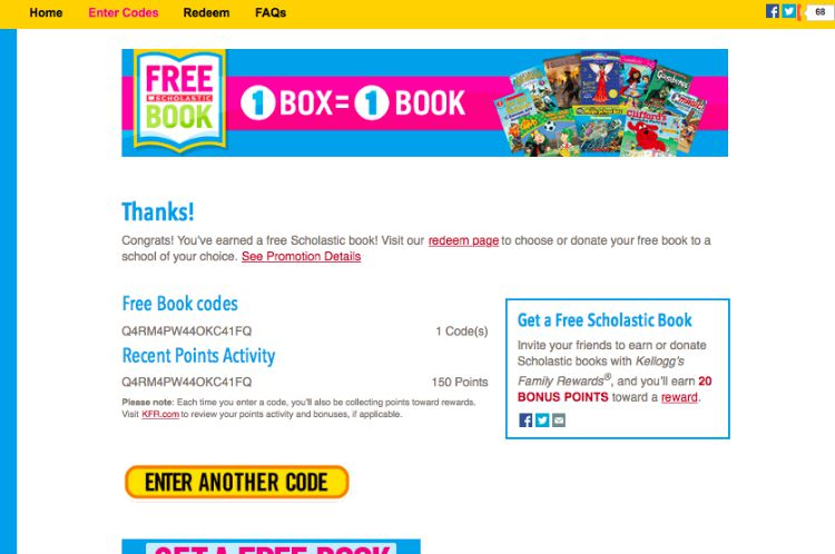 Building my school library with scholastic books with kelloggs kelloggs family rewards tutorial 3 fandeluxe Gallery