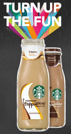 Starbucks FRAPPUCCINO TURN UP THE FUN Prizes Giveaway Sweepstakes