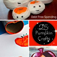 Twenty-Five Pumpkin Crafts for Fall