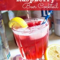 Fresh Raspberry Beer Cocktail