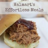 Chicken BBQ Walmart Effortless Meals