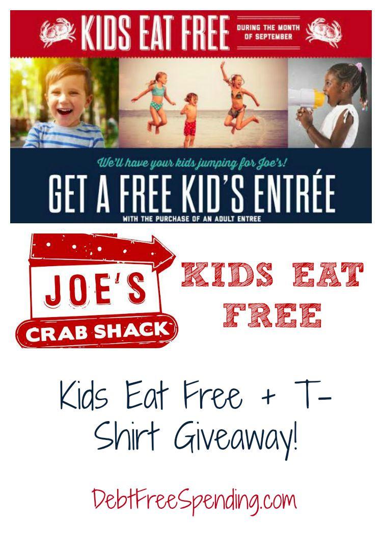 Joes Crab Shack Kids Eat Free