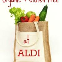 Shopping Organic & Gluten Free at Aldi