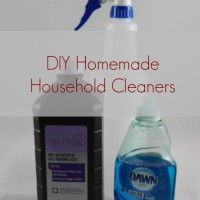 DIY Homemade Household Cleaners (Day 24) #SpendingFreezeDFS