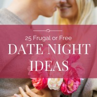 25 Free Or Frugal Date Night Ideas (Day 23) #SpendingFreezeDFS