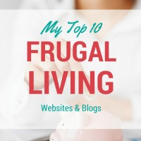 My Favorite Frugal Blogs and Websites