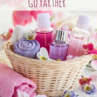 How To Make Toiletries Go Farther (Day 25) #SpendingFreezeDFS