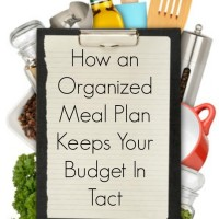How An Organized Menu Plan Keeps Your Budget In Tact (Day 20) #SpendingFreezeDFS