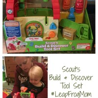 LeapFrog Scout's Build & Discover Tool Set Is a Hit #LeapFrogMom