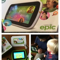 LeapFrog Epic Tablet is Truly Epic #LeapFrogMom