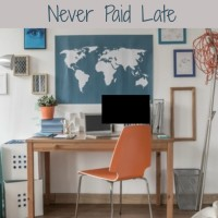 Organizing Your Office So Bills Are Never Paid Late (Day 17) #SpendingFreezeDFS