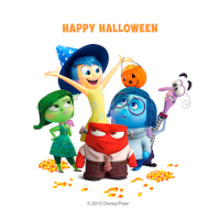 Happy Halloween, from Inside Out #insideout