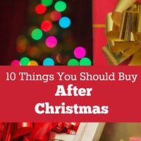 10 Things You Should Buy After Christmas