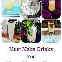 7 New Years Eve Must Make Drinks