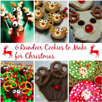 Reindeer Cookies for Christmas