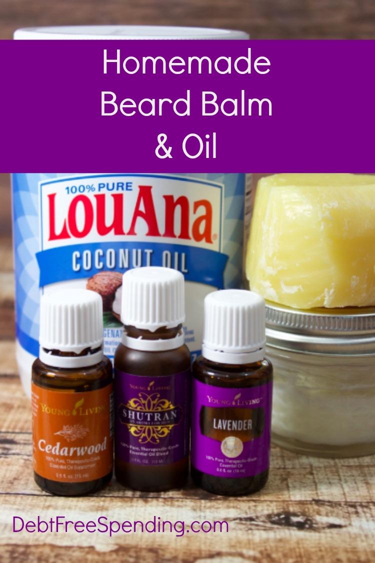 Homemade Beard Balm & Oil - Debt Free Spending