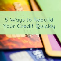 5 Ways to Improve Your Credit Score Quickly