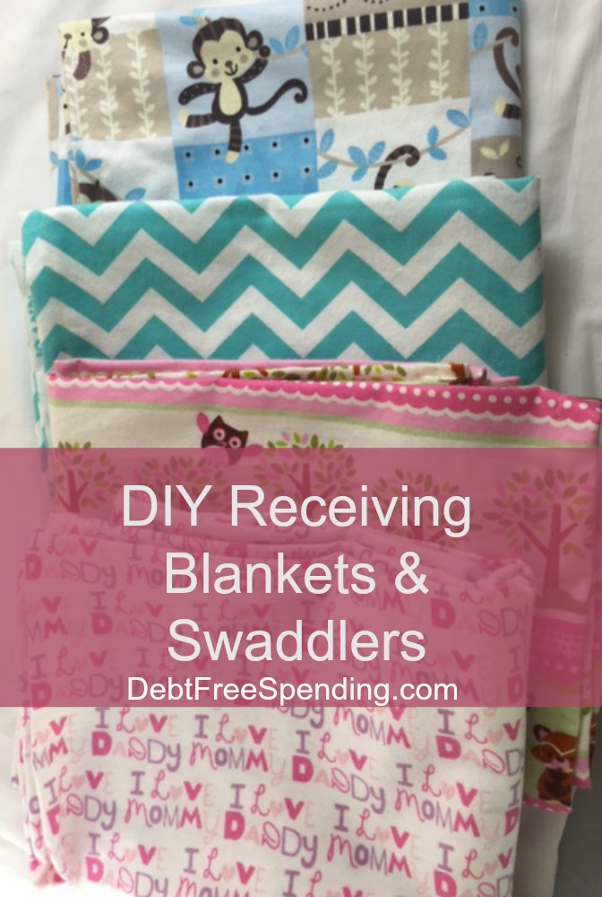 Swaddling And Receiving Blankets Delectable How To Make Your Own Homemade Swaddling Blanket Receiving Blankets