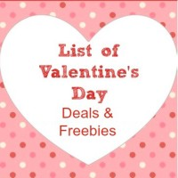 Valentine's Day Deals & Freebies