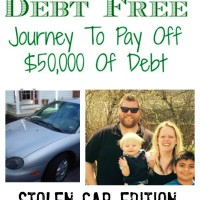Debt Free Journey stolen car edition