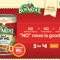 Chef Boyardee on Rollback at Walmart #SaveOnChef #Ad