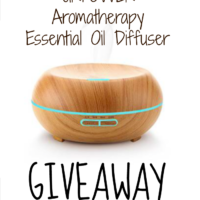 URPOWER Aromatherapy Essential Oil Diffuser Giveaway