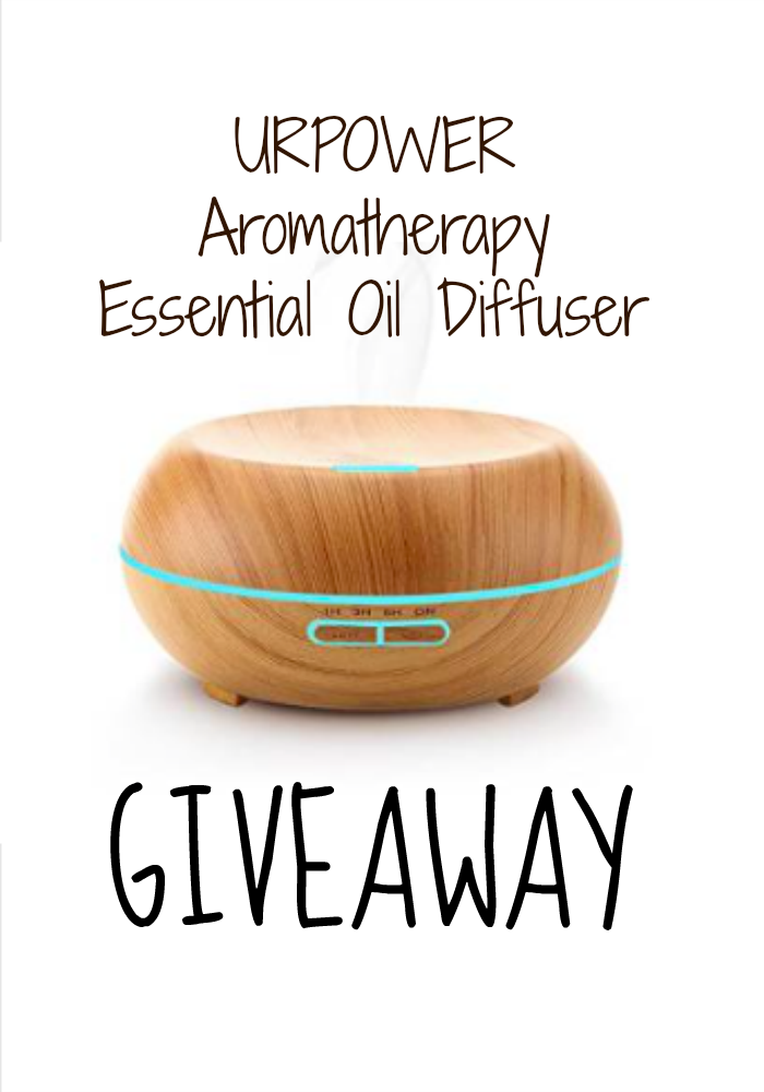 urpower aromatherapy essential oil diffuser giveaway. Black Bedroom Furniture Sets. Home Design Ideas