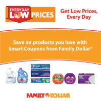Save More With Family Dollar® Smart Coupons #FamilySavings #Ad