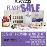 Young Living Premium Starter Kits 10% Off Through October 19th