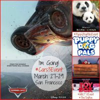 Join us on a trip to San Francisco with Disney, Pixar and ABC March 27-29 #Cars3Event #ABCTVEvent #TheToyBox #PuppyDogPalsEvent