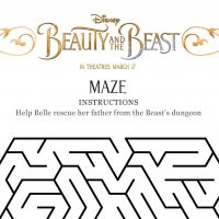 "Beauty and the Beast: ""Something There"" Clip + New Activity Sheets #BeOurGuest"