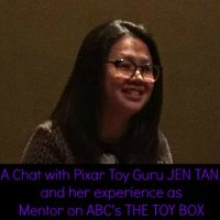 THE TOY BOX: Behind the Scenes with Mentor Pixar Toy Guru JEN TAN #ABCTVEvent #TheToyBox