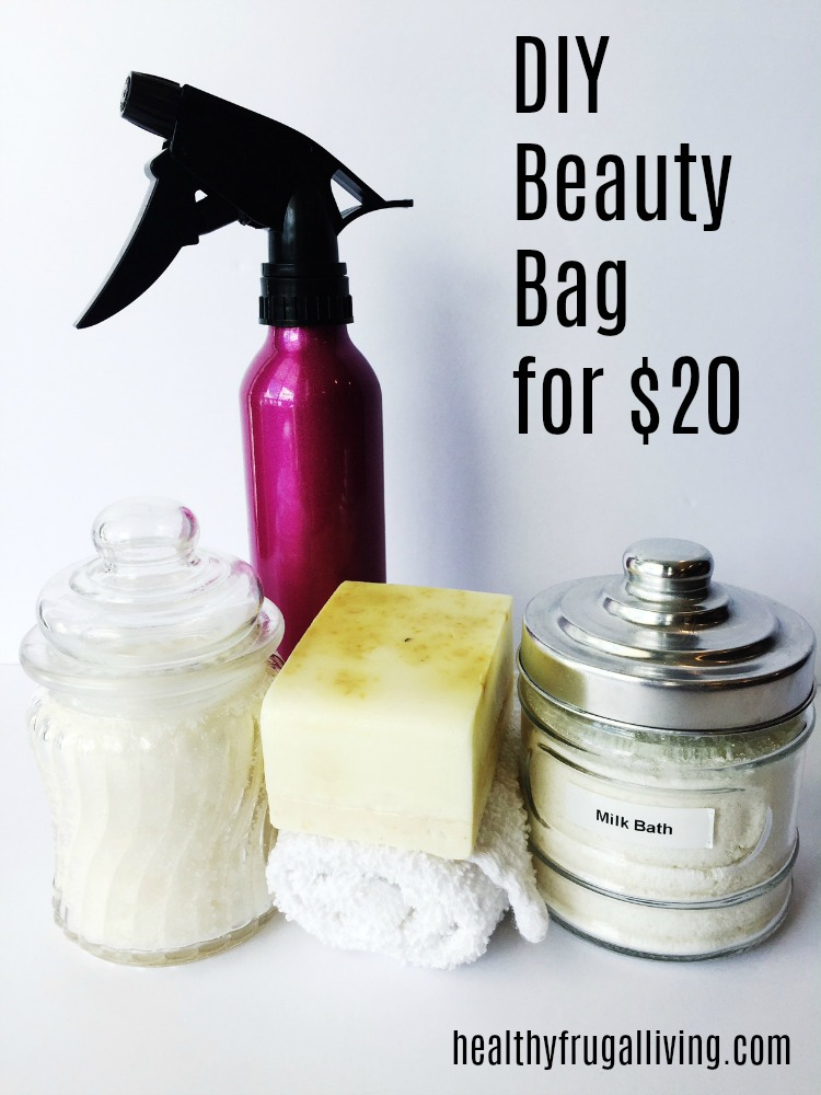Essential Oil DIY Beauty Bag