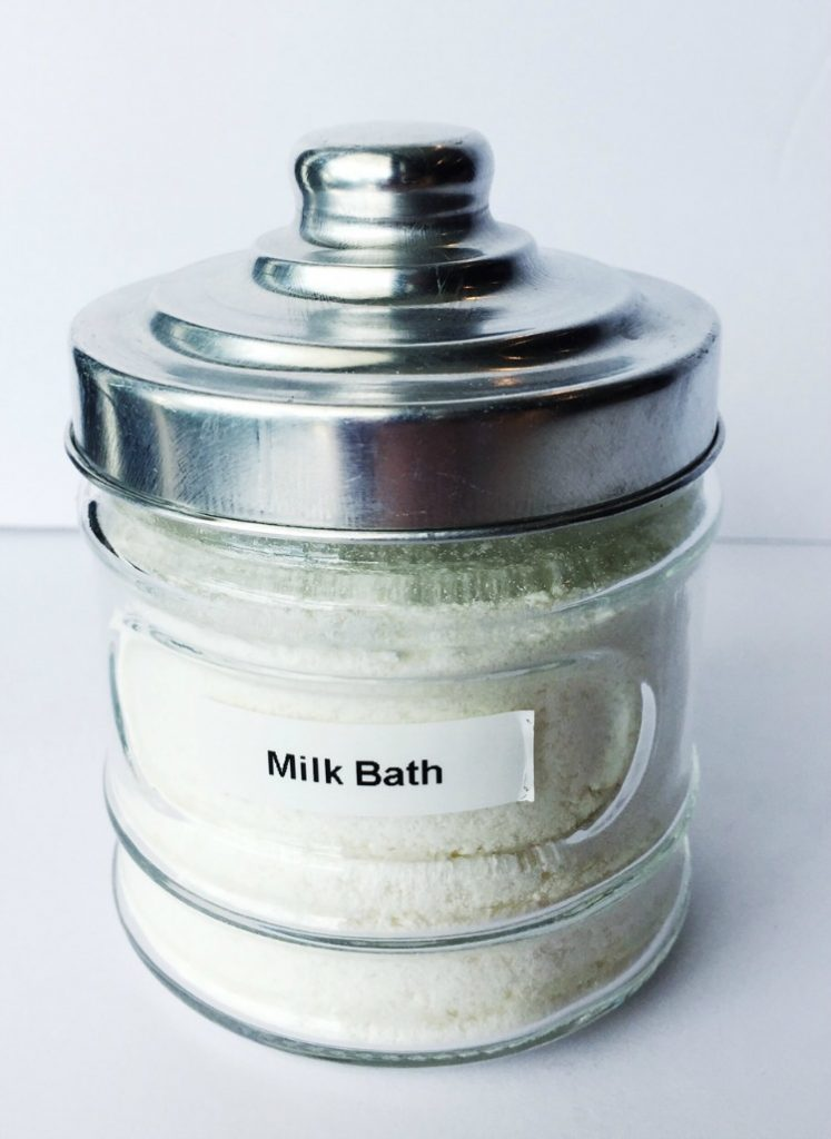 Essential Oil Milk Bath